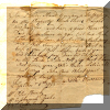 A document written in 1793 meant to be a warning against cutting timber - click for larger view