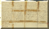 Indenture for quit claim property deed, dated 1798 - click for larger view