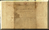 Addressee side of letter written in 1791 - click for larger view