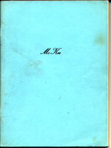 The McKee Family Book - 1971 by Loren McKee, Davenport, Iowa